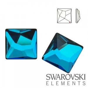 2420 Swarovski Asymmetric Square BBL 10 mm