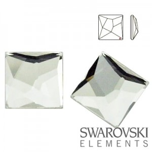 2420 Swarovski Asymmetric Square CRYSTAL 10 mm