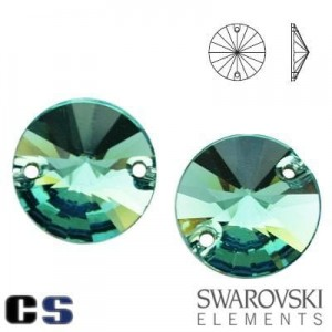 3200 Swarovski Rivoli ERINITE 12 mm