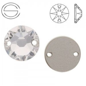 3288 Swarovski XILION Sew-on 8,0 mm Crystal F
